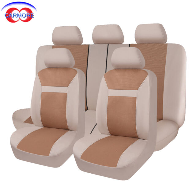 Stupendous 11Pcs Full Set Faux Leather Universal Seat Covers Blue Fit Car Suv Van Truck Pdpeps Interior Chair Design Pdpepsorg