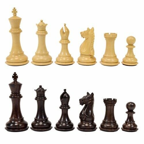 Supreme Wood Chess Pieces - 3.75  King