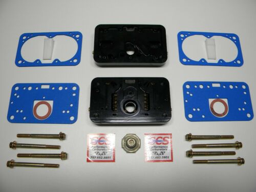 Holley QFT AED CCS 950 CFM Pro Billet Metering Block Kit 2 Circuit 5 Emul Black