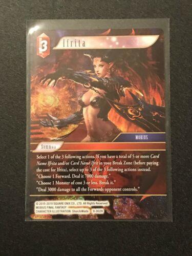 Hero Standard // Foil Fire Final Fantasy TCG: Opus 9 Ifrita 9-002H