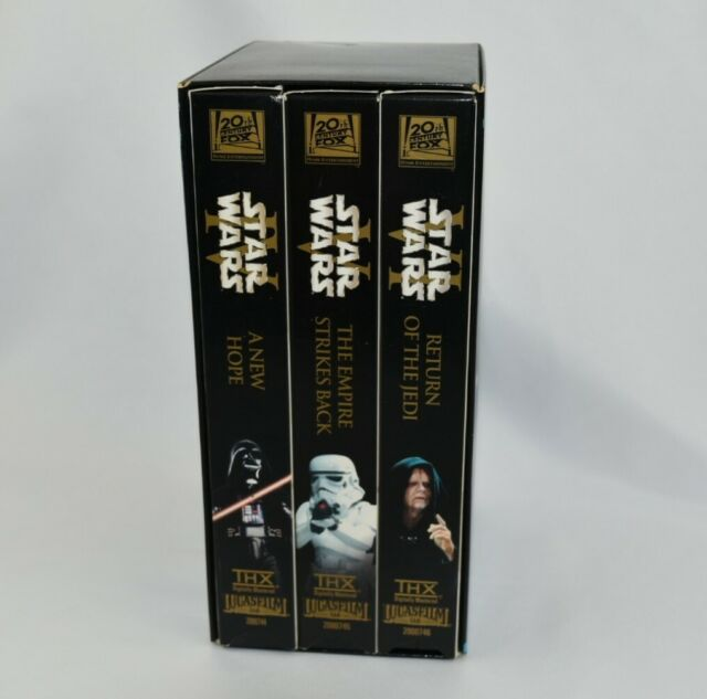 Star Wars VHS Episode 456 THX New Hope /Empire Strikes Back / Reurn of the jedi
