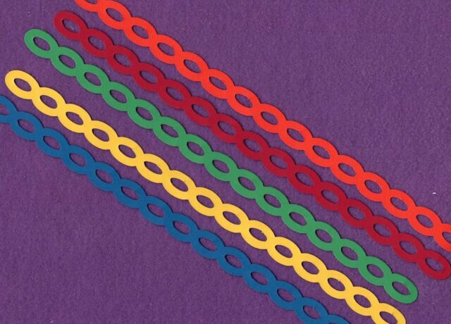 Chain Border edging trim die cuts scrapbook cards
