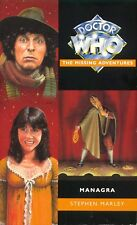 4th Dr Doctor Who (Tom Baker) Missing Adventures Book - MANAGRA - (Mint New)