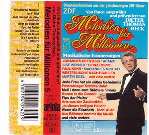 MC-Melodien-fuer-Millionen-Folge-5-Sampler-MC-MUSIK-CASSETTE