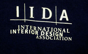 International Interior Design Association lrg T shirt ...