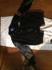 NFL Leather & Wool Super Bowl XXXIX  Size L Jeff Hamilton Jacket Feb 6, 2005 NEW