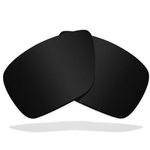 Replacement Lenses for VON ZIPPER Clutch Sunglasses Anti-Scratch Dark Black