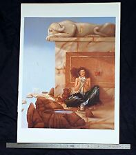 Michael Parkes Print The Mask