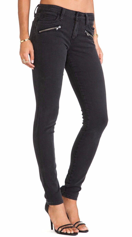Nwt JOE´S Jeans Sz30 Innenlinie Reißverschluss Midrise Skinny-Stretch Brynn