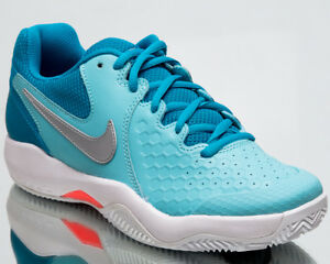 940c875d06174 Nike Wmns Air Zoom Resistance Clay Women Tennis Shoes Aqua Sneakers ...