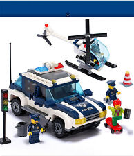 EG Air track City police series 394 pcs Lego Compatible Building blocks toy