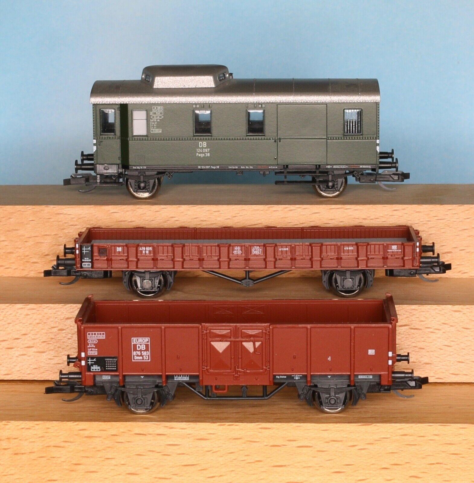 Tillig 01574, traccia TT, DB autoRO MERCISet, 3 pezzi, epoca 3