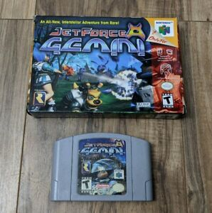 Jet-Force-Gemini-Nintendo-64-1999-with-Box-Tested-amp-Working