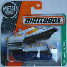 MATCHBOX-Hydro CRUISER Madreperla Bianco/Nero Boot Nuovo/Scatola Originale
