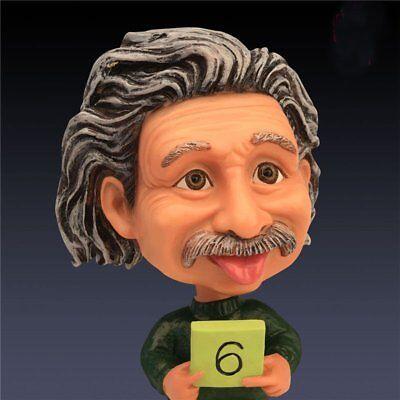 Albert Einstein Bobble Head Thinking Version Resin Statue
