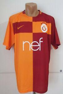 Desviar Imperativo Un fiel  Galatasaray Turquía 2017/2018 Hogar Camiseta De Fútbol Fútbol Jersey Tricot  Nike (XL) | eBay