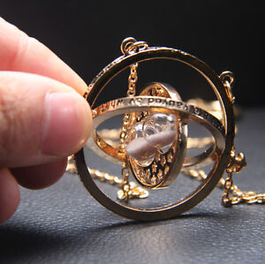 Harry-Potter-Hermione-Converter-Time-Turner-Sand-Spin-Necklace-Pendant-Retro-New