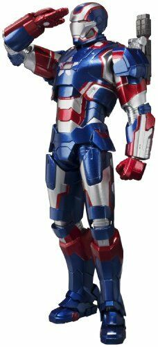 Bandai S.H. Figuarts Iron Patriot Iron Man 3 FIGURA DE ACCIÓN MARVEL