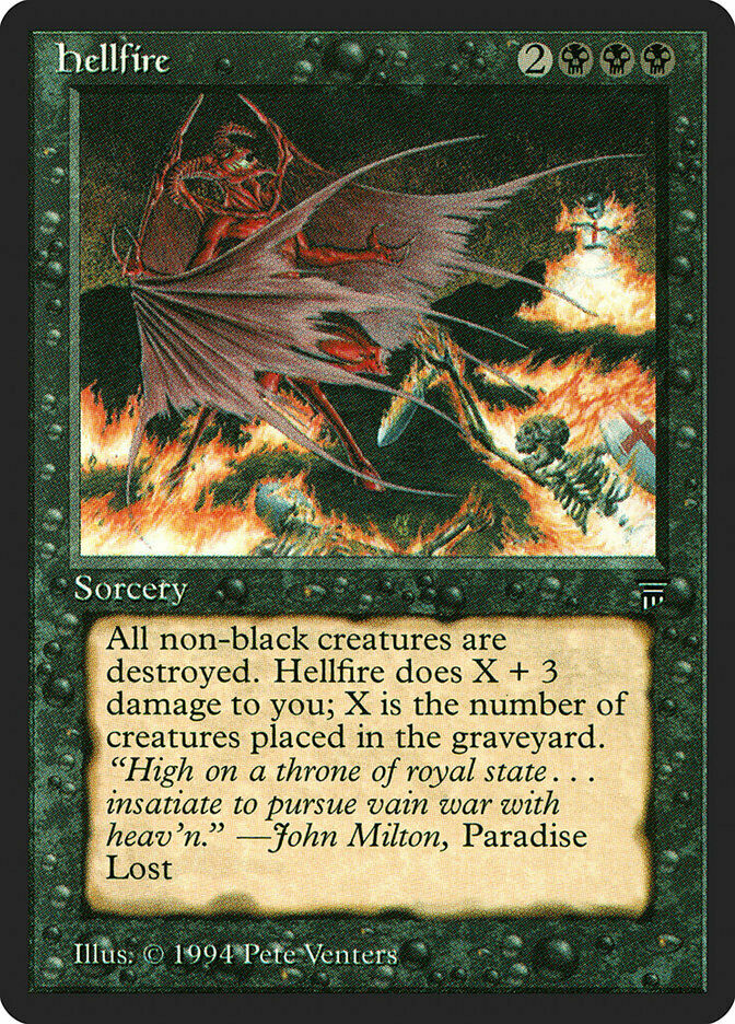 Fuoco Infernale Legends - Hellfire MTG