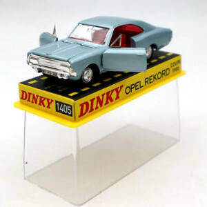 Atlas-1-43-Dinky-Toys-1405-Opel-Pekord-Coupe-1900-Diecast-Models-Car-Collection