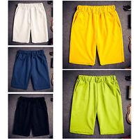 Fashion Men Cotton Shorts Pants Gym Trousers Sport Jogging Trousers Casual Pants