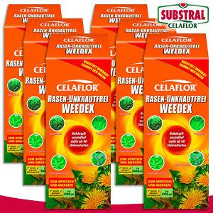 Substral-Celaflor-6-x-400-ml-Rasen-Unkrautfrei-WEEDEX