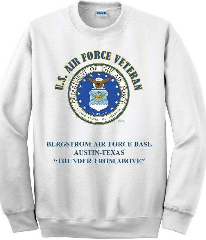 CHARLESTON CHARLESTON CHARLESTON AIR FORCE BASE* 437TH AIRLIFT WING* SC*  EMBLEM SWEATSHIRT 1ab4ba