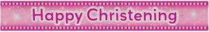 Baby-Girls-2-7-m-Happy-Christening-Holographic-Banner-Pink