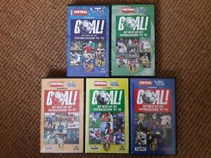 VTM Goal VHS 5 jaargangen: '94-'95 / '95-'96 / '96-'97 / '97-'98 / '99-'00