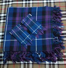 Men's Kilt Fly Plaid Pride of Scotland tartan/Onore della Scozia Kilt Fly Plaid