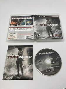 Sony PlayStation 3 PS3 CIB Complete TESTED Tomb Raider 2013