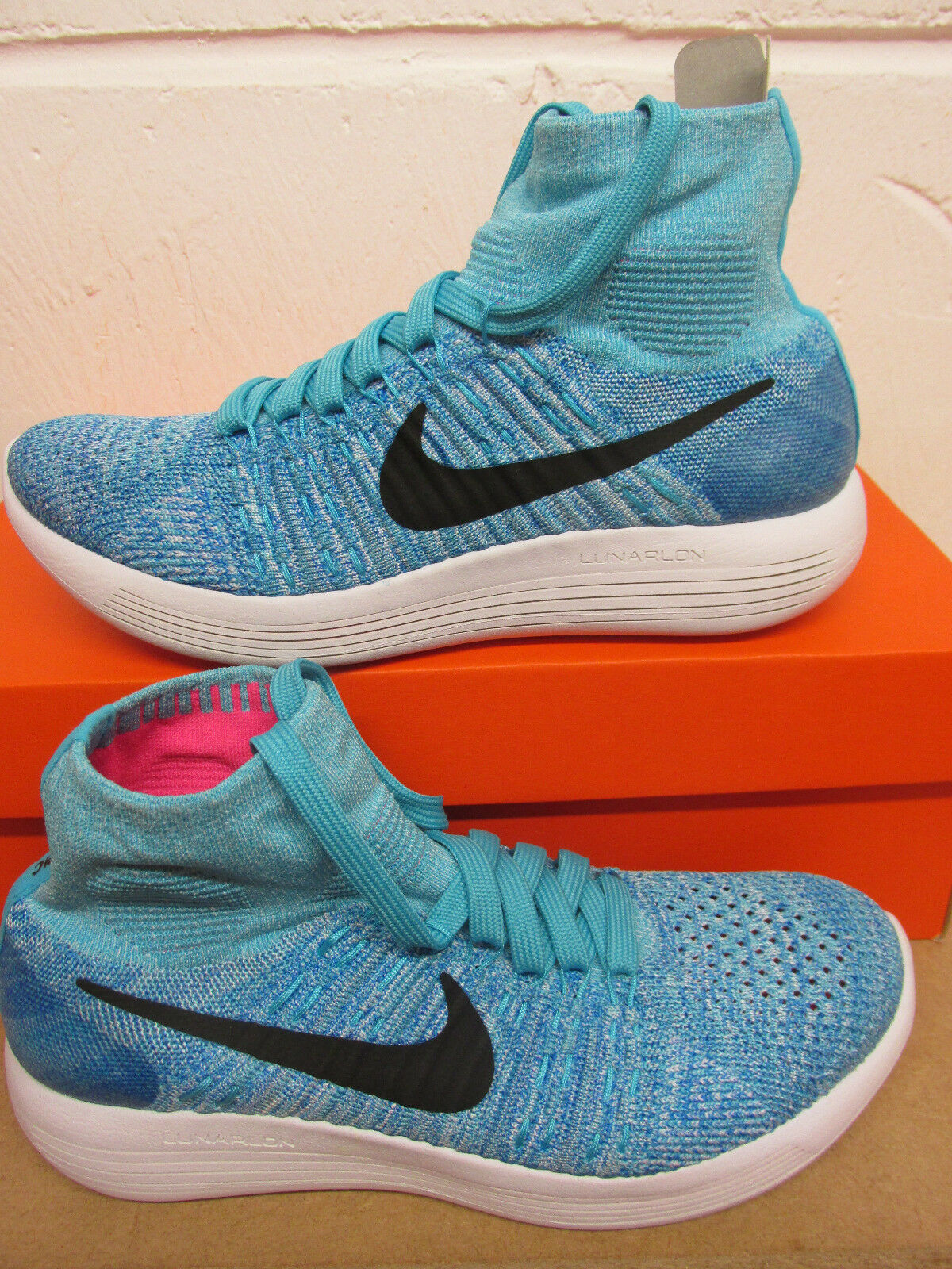 Nike Womens Lunarepic Flyknit Running Trainers 818677 404 Sneakers Shoes