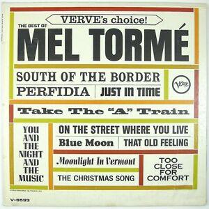 MEL-TORME-Best-Of-Mel-Torme-LP-1964-JAZZ-POP-VOCAL-NM-NM