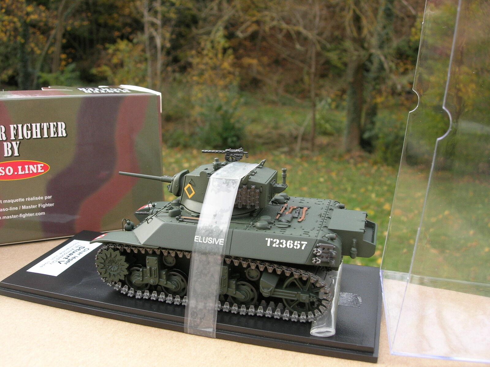 MASTER FIGHTER 1 48 TANK US M3A3 STUART V char leger Normandie 1944 48571UK