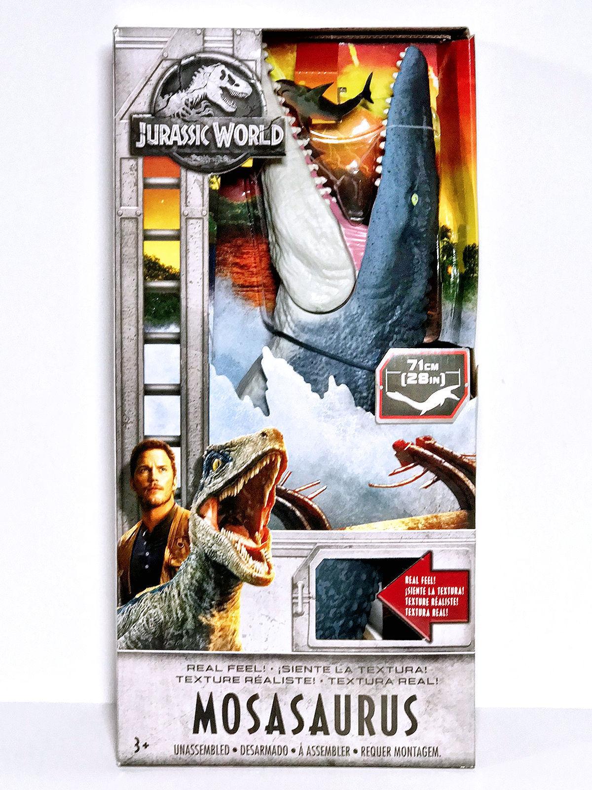 Jurassic värld Fallen Kingdom Real feel Mosasaurus 28 'Long NIB