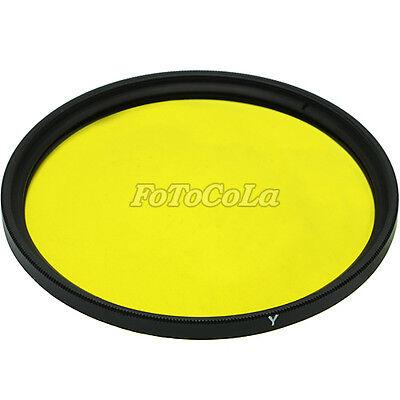52mm 52 mm Yellow color conversion filter DSLR SLR Lens