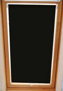 dachfenster rollo sichtschutz fb 128 schwarz hk f r velux typ ggl ghl gtl gpl ebay. Black Bedroom Furniture Sets. Home Design Ideas