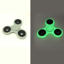 Fluorescence Hand Spinner cd Tri Fidget Ceramic Ball Desk Toy EDC 3D Anti Stress