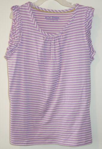 NWT Mini Boden Purple Striped Top Size 11-12 year
