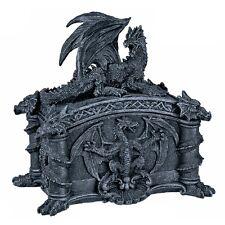 Drachen Box Schatulle Schatzkiste Dragon Gothic Halloween Dekoration DRA584