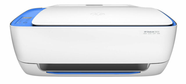 HP DeskJet 3634 Compact All-in-One Wireless Printer with Mobile Printing K4T93A