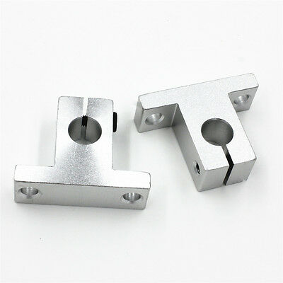 2PCS SK12 12mm Linear Rail Shaft Guide Support CNC