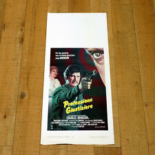 PROFESSIONE GIUSTIZIERE locandina poster The Evil That Men Do Lee Thompson AO30