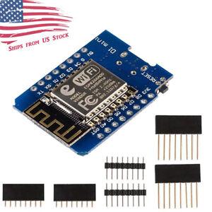 D1 Mini NodeMCU and Arduino WiFi LUA ESP8266 ESP-12 WeMos USA Seller