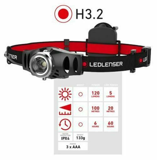 Led Lenser H3.2 LED Head Torch