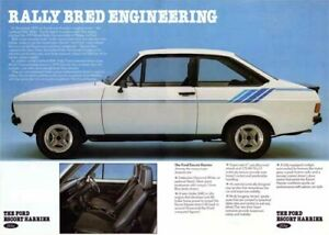 Ford-Escort-Harrier-Mk2-Limited-Edition-Add-POSTER-PRINT-CLASSIC-70-039-s-ADVERT-A3