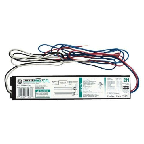GEC240MAX-A * Electronic Ballast for 2 or 1-Lamp Lot Of 10 Retail 339.50