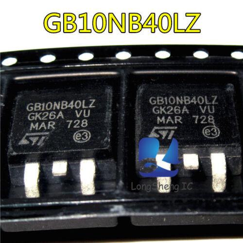 5 Pcs GB10NB40LZ Transistor Car ECU Repair IC Auto Ignition Driver TO263 new