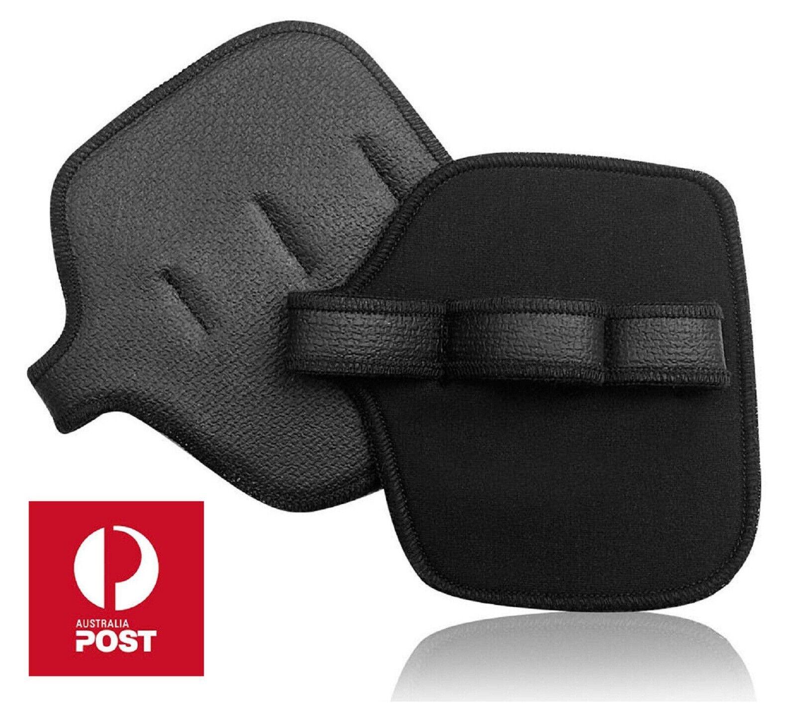 Almohadillas de Agarre Fitness CrossFit Entrenamiento Gimnasio Guantes de levantamiento de pesas Almohadilla Almohadillas de agarre firme