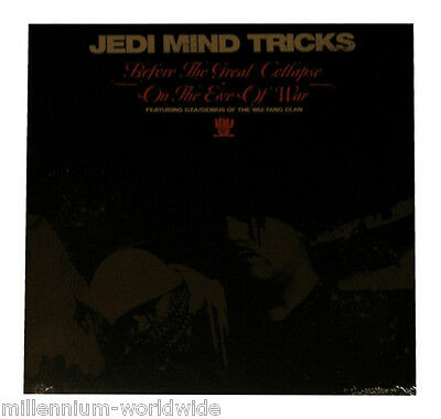 "NEW - JEDI MIND TRICKS - BEFORE THE GREAT COLLAPSE / ON THE EVE OF WAR 12"" VINYL"